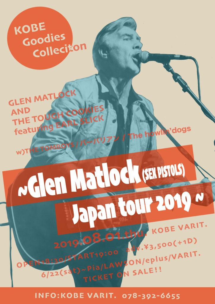 KOBE Goodies Collection ~Glen Matlock(SEX PISTOLS) Japan tour 2019 ~