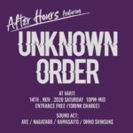 After Hours featuring UNKNOWN ORDER
